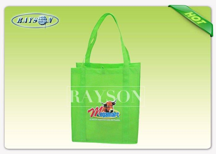 Supermarket PP Non Woven Bags 70gsm - 90gsm 50x40x10 cm With Long Handle