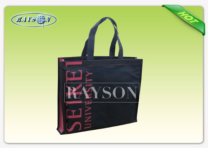 Recyclable Polypropylene Tote non woven grocery Bag With PP webbing for Supermarket