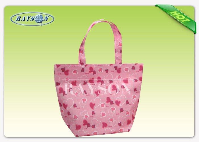 Rayson Non Woven Fabric Eco Friendly TNT Shopping Bag With Customized Logo / Non Woven Reusable Bags PP Non Woven Bags image18