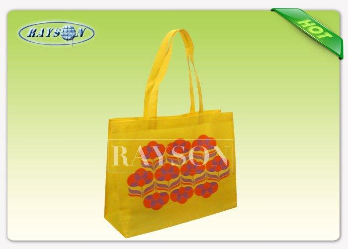 OEM  ODM Red 100% Polypropylene Non Woven Bag Exported To Europe Market