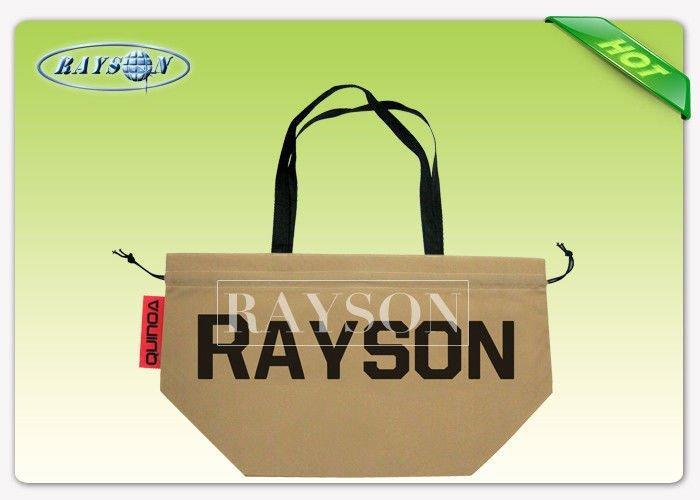 Eco Friendly TNT Shopping Bag With Customized Logo / Non Woven Reusable Bags