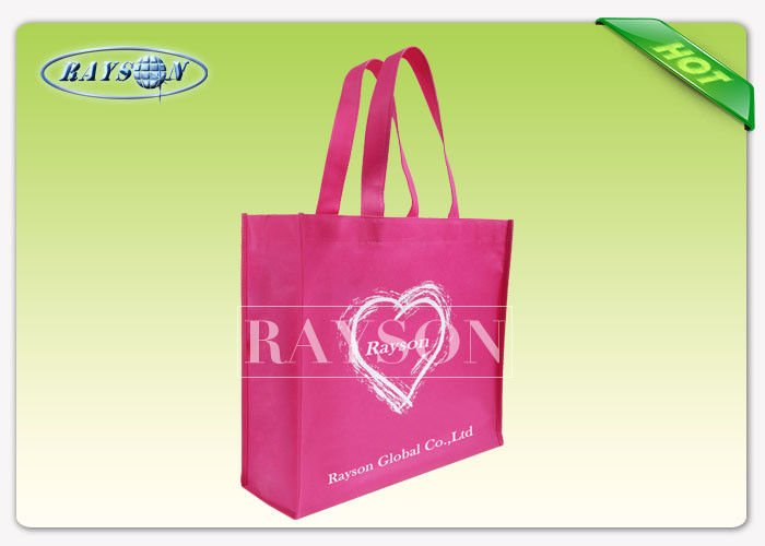 Rayson Non Woven Fabric Promational PP Non Woven Bags  70gsm - 90gsm 35x45x10 cm With Handle PP Non Woven Bags image2