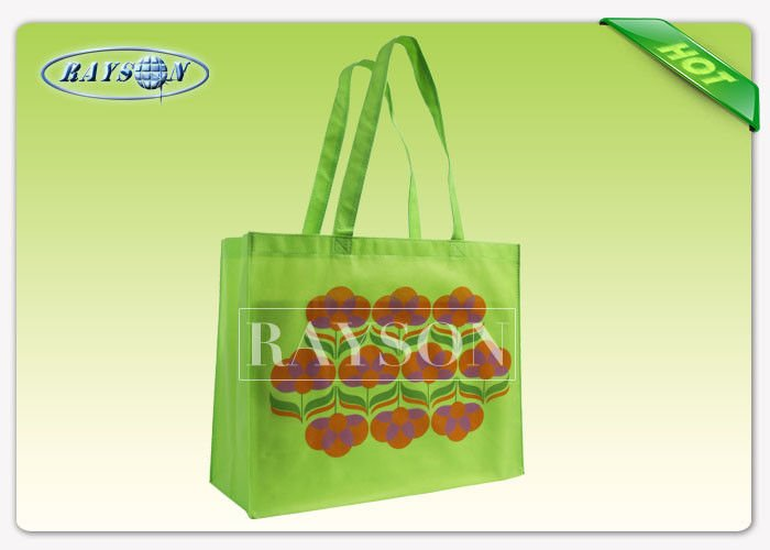 Rayson Non Woven Fabric 120GSM OPP Laminated PP Non Woven Bags In Mesh belt Handle PP Non Woven Bags image17