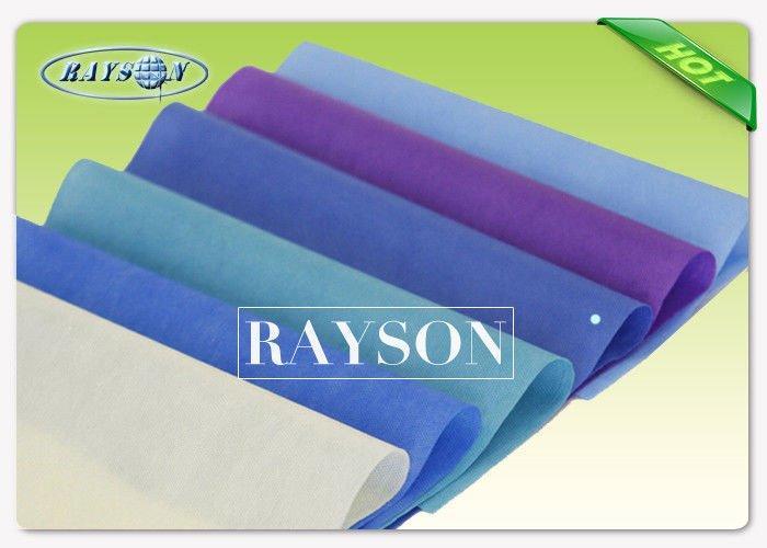 10-150gsm Disposable Non Woven Medical Textiles Seasame Dot Pattern