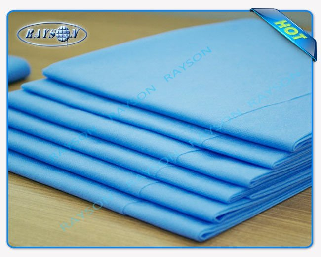 Hospital Hygienic Waterproof Nonwoven Medical Disposable Bed Sheet Soft Feeling