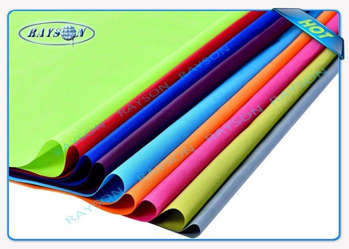 High Strength PP spunbonded Non Woven Fabric For Sleeve Let More Than 66 Colors