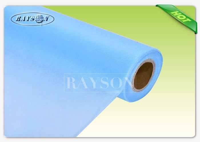 White Colors Polypropylene SS Spunbond Polyester Bed Sheets , Medical Bed Sheet