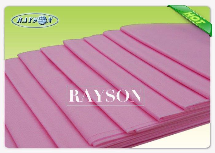 Green Surgical 100% Polypropylene Non Woven Disposable Sheets and Pillowcases to Patinet Gown
