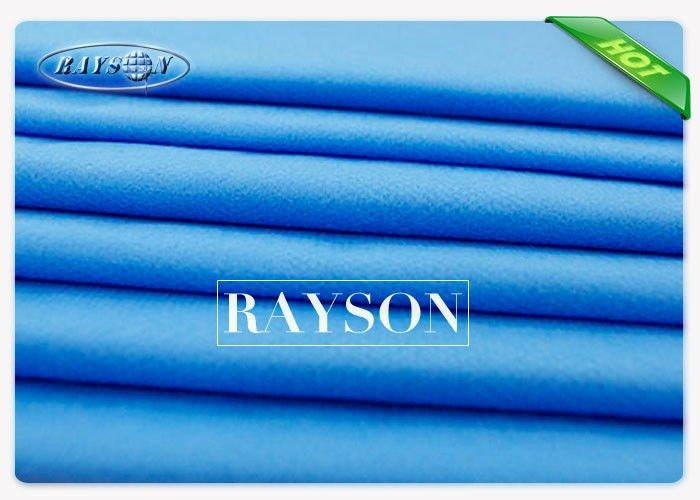 Water Repellent Strong Strength PE Coated Washable Absorbent Bed Sheet for Europe Hospital Surgical Gowns