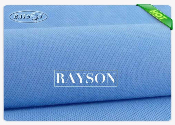 Light Blue Color Imported Polypropylene Disposable Bed Sheet for Surgical Medical
