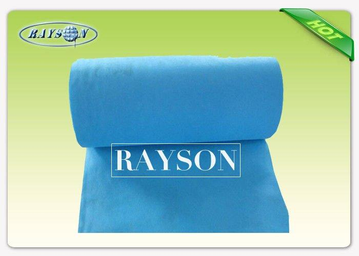 Antibacterial OEM & ODM Breathable Disposable Spunlace Bed Sheets Tear Resistant