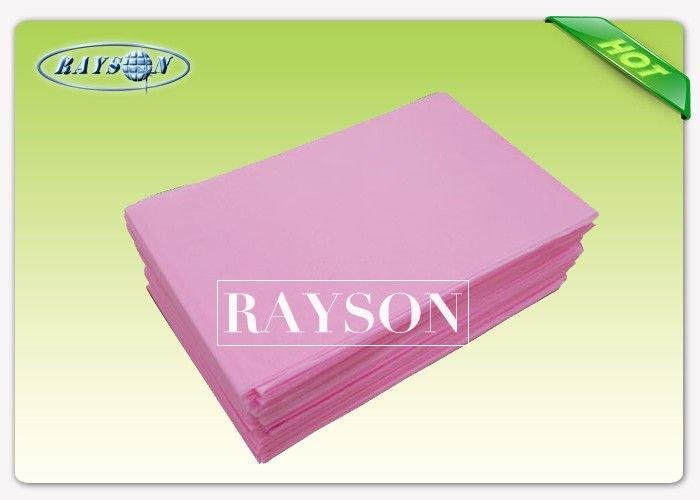Disposable Bedsheet  Laminated  Non Woven To Hotel In Europe In Roll