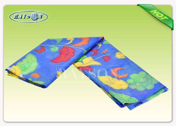 65 gram 210cm Width Printed Non Woven Fabric For Mattress Cover / Package