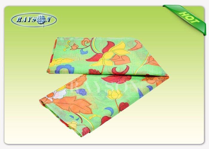 45GSM Six Color Printed Non Woven Fabric Grade A 180CM - 220CM Width