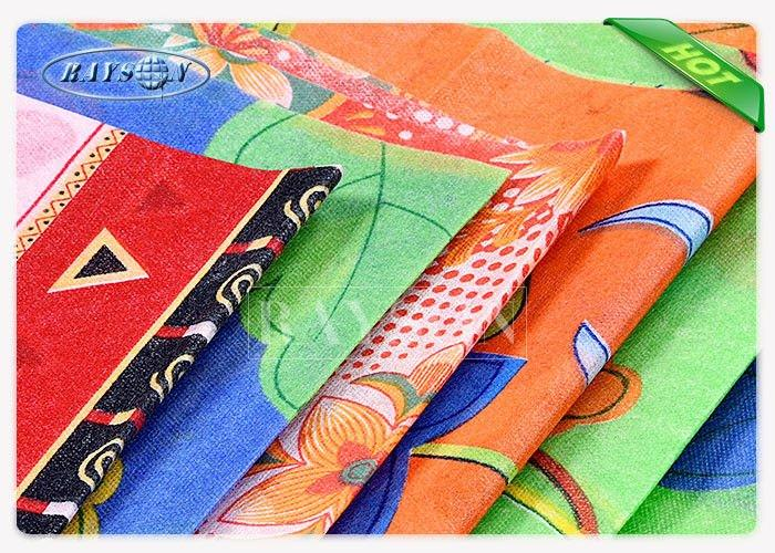 70-90 GSM Colorful Printed Non Woven Fabric In Roll Different  To Europe