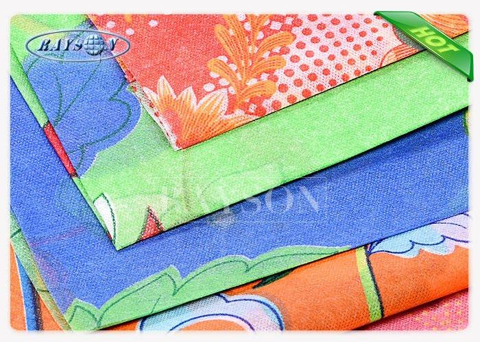 Customized Pattern Color Printing On Non Woven Fabric For mattress fabrics