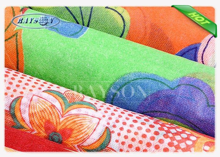 Full Color PPSB Printed Non Woven Fabric For Making Shopping Bag To Europe