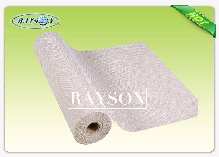 Nontextile Non woven material Anti Slip Fabric For Medical Cap / Mask / Shoe / sheet