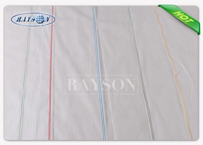 10M / 20M / 25M Non Woven Landscape Fabric Landscape Ground Cover Customize Width