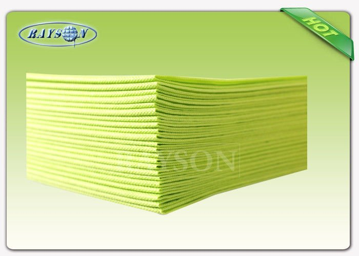 Eco friendly Printed Disposable 1.4mx1.4 m PP Tablecloth / Non Woven Products