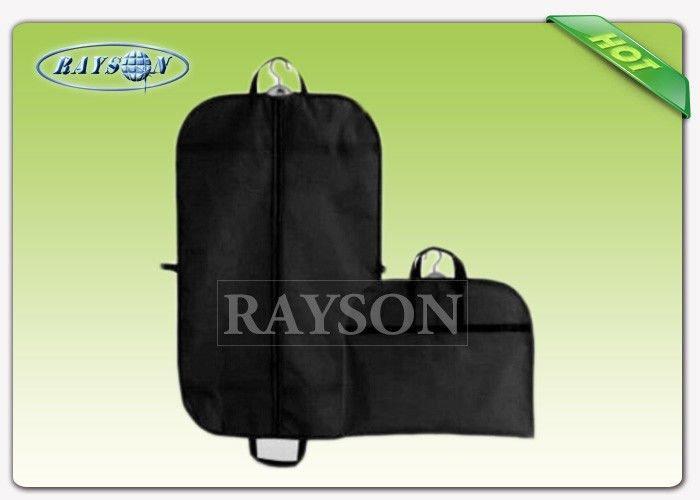 Disposable Reusable Non woven Suit Cover , Folded Suit Non woven Garment Bags