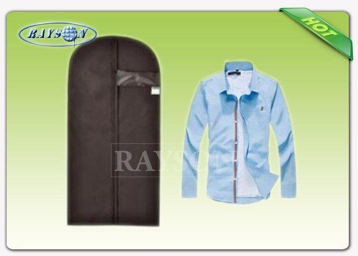 Foldable With PVC Window Non woven Garment Bag Suit Cover For Mev 's T - Shirt