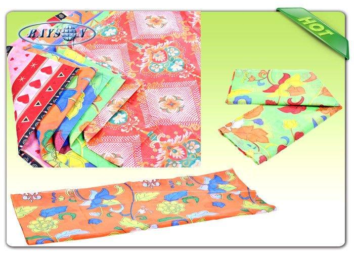 Different Printing Design Printed Non Woven Fabric Grade A To Pack Furniture / Sofa