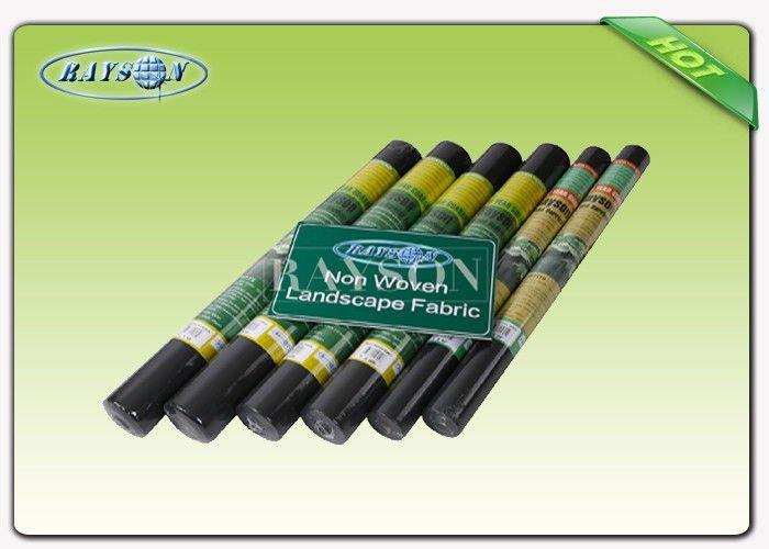Good strength black spun bonded Garden Weed Control Fabric / ground weed control fabric