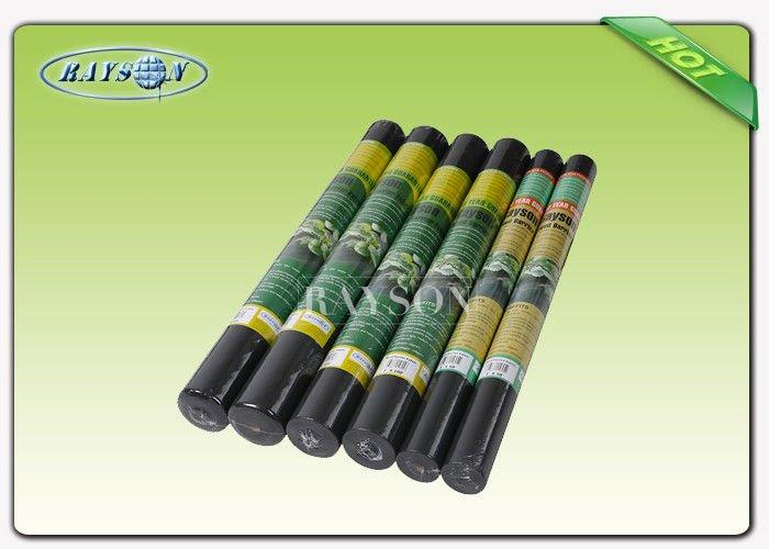 Enviromentally safe erosion control spunbond landcape weed control fabric for garden