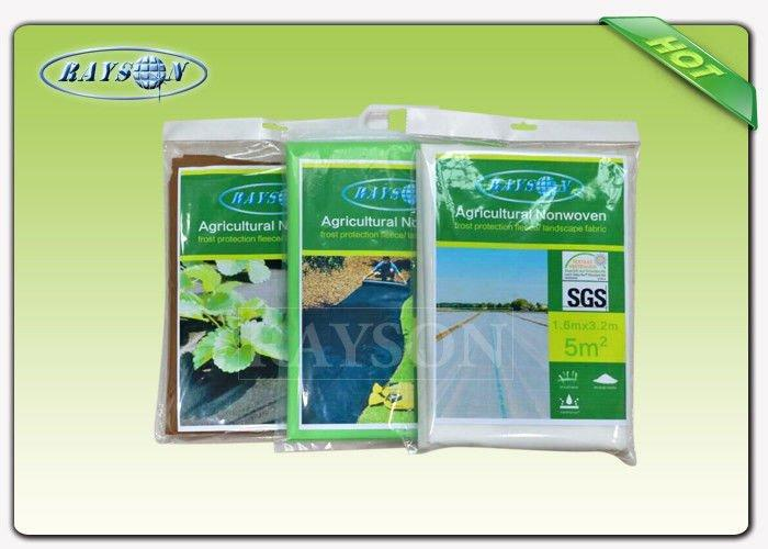 Anti UV resistance of oxygen 40gram Non Woven Landscape Fabric for ground cover