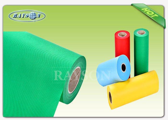 Width 1.2m/1.6m Breathable PP Spunbond Non Woven Fabric Polypropylene For Wrapping Flower