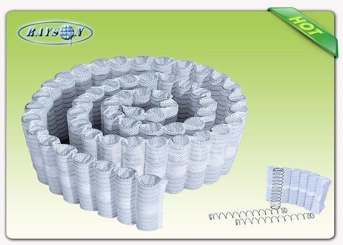40-63 cm Width White Color PP Non Woven Spunbond Used For Europe  Market Pocket Spring