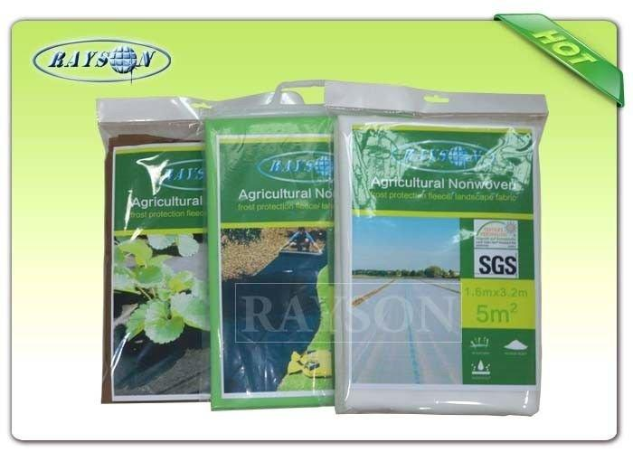 Anti UV Resistance Of Oxygen Non Woven Garden Landscape Fabric / Heavy Duty Landscape Fabric