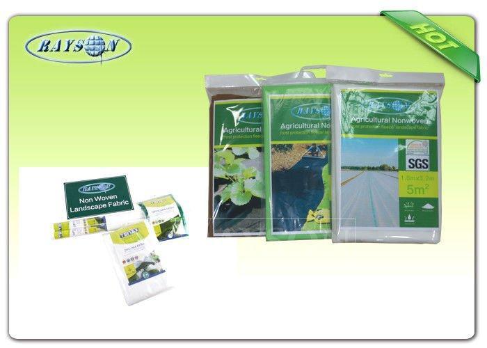 Black / White UV Resistant Non Woven Landscape Fabric For Plant / Garden  / Crop