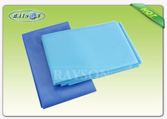 Zero Pollution Customized Disposable Bed Sheet Polypropylene 120 cm × 220cm