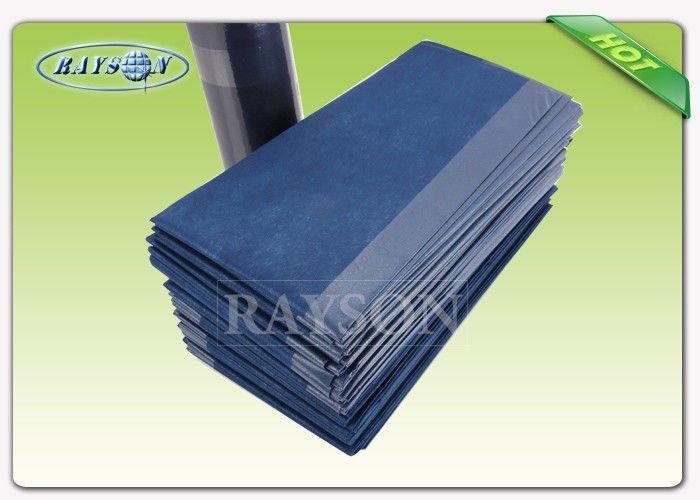 Anti Various Liquids Disposable Bed Sheet , Non woven Bed Cover For Massage Hospital