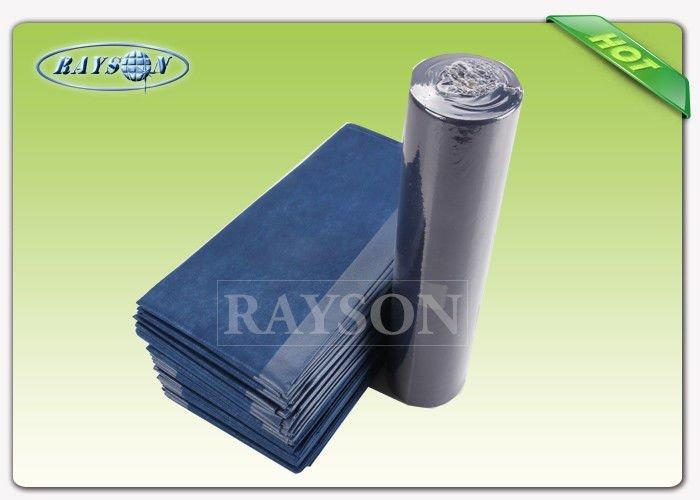 No Stimulation PP Spunbond Nonwoven Water Absorbent Paper Sheet Roll With Multi Color