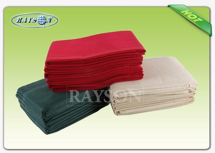 50 gr Blue Non woven Bed Cover With Elastic Band No Smell No Stimulation to The Skin