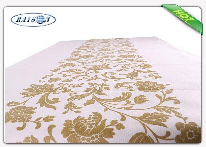 Automatic Cutting And Folding Mexican Square Non Woven Tablecloth PP Non Woven Fabrics