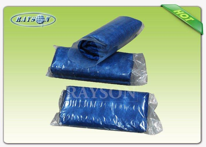 Custom Width One - Time Use Non Woven Bed sheet / Disposable Bed Cover For Europe