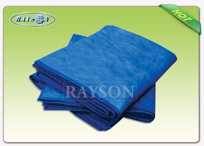 Convenient Disposable Nonwoven Bed Sheet Bright Color Low Thickness 80cm 190cm