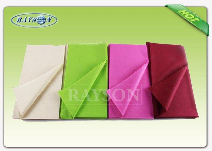 Monouso Non Woven Tablecloth IN TNT Overseas Stable Uniformity Disposable fabric 1m * 1m