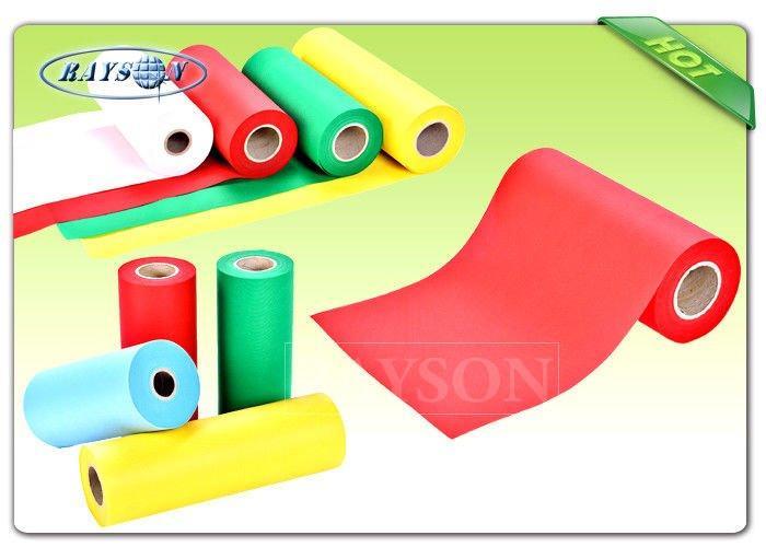SBPP Non Woven Polypropylene Fabric Roll Material Rayson Spunlace Non Woven Fabrics
