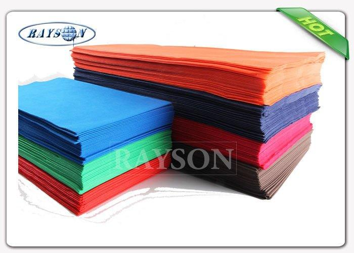 Oeko-Tex Certification Approved Pre-Cut 45 Gsm Various Colors Tnt Table Cloth With 25m Long