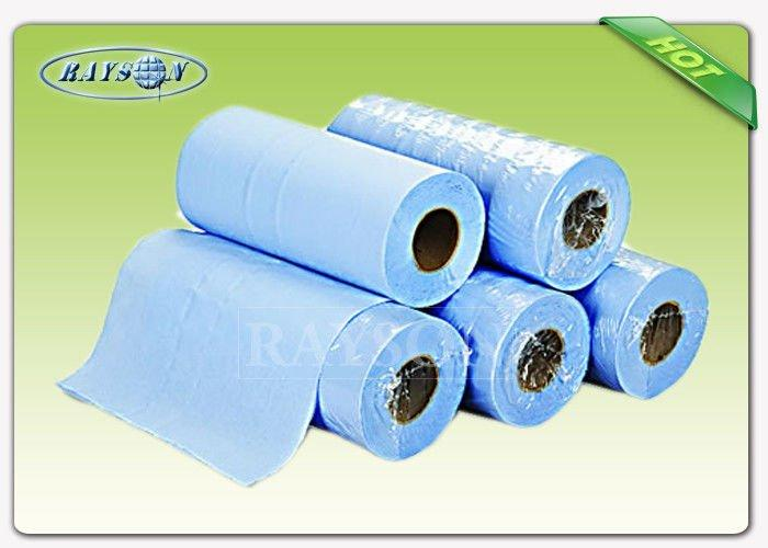Light Blue Disposable PP Nonwoven Massage Bedsheet Roll for Hospital