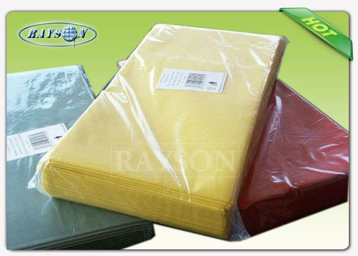 Nonwoven Fabric Factory Direct Sale Tablecloths 110cm 100cm TNT All Colors