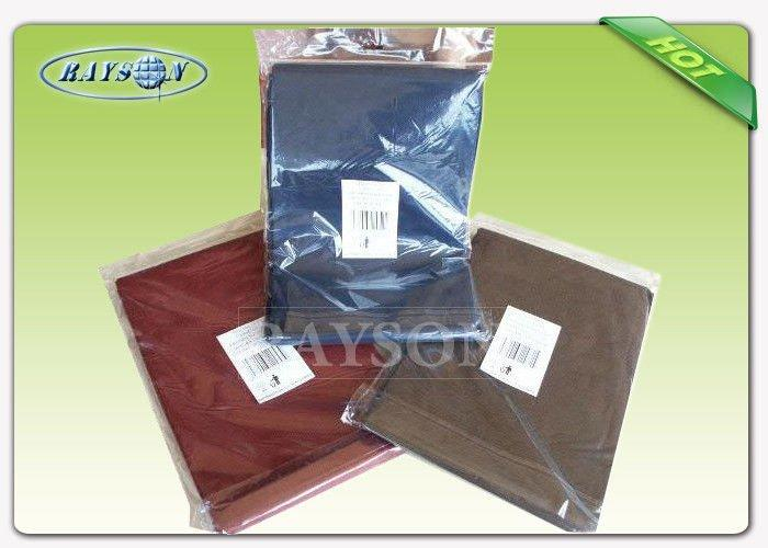 Individual Packing Overseas Stable Uniformity Disposable Fabric Tablecloths